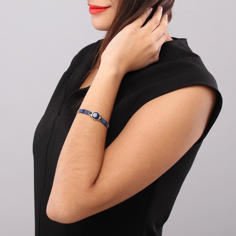 MYLA bracelet jonc lapis