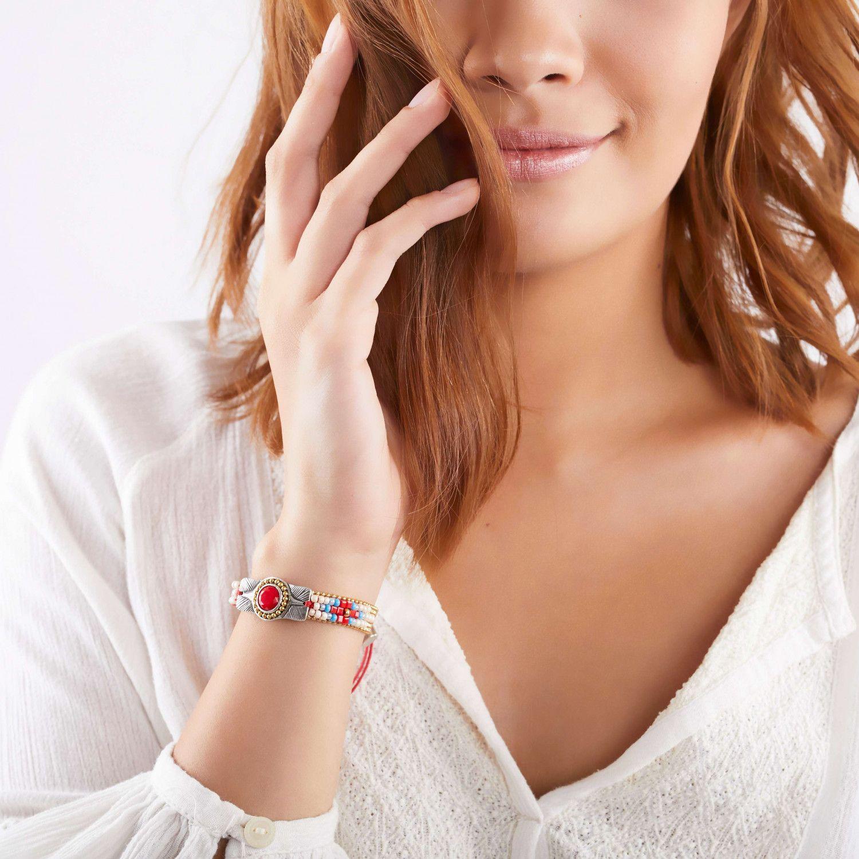 APONI bracelet chaine & cabochon