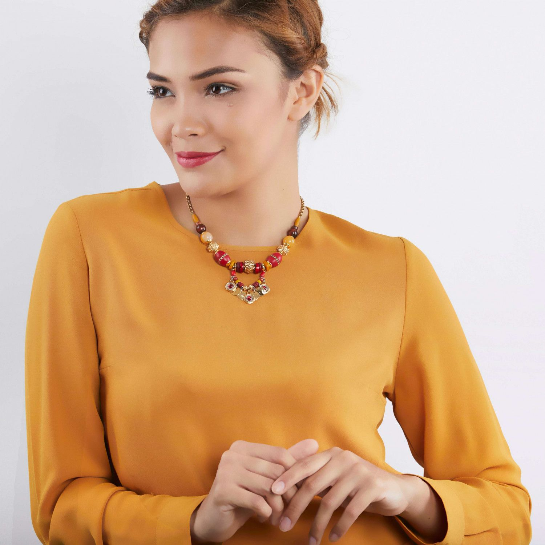 WANDA collier perles XL