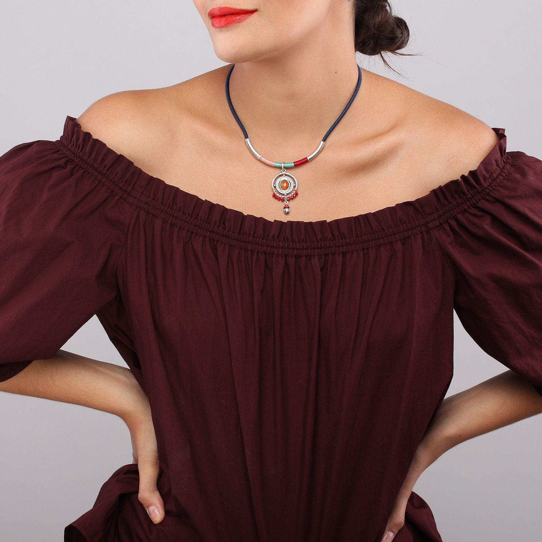 JANIKA collier pendentif