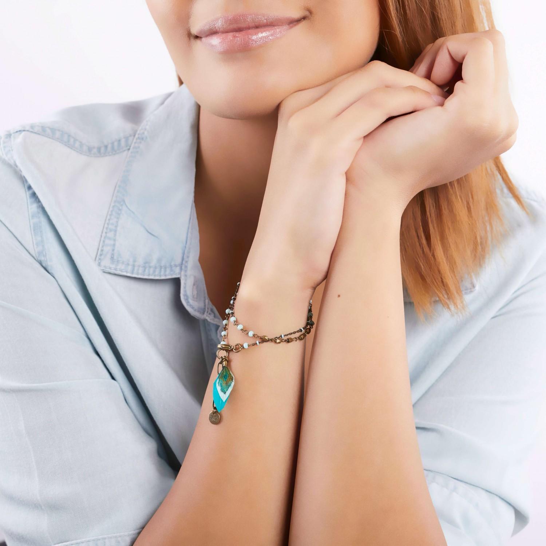 ALYCE bracelet 2 tours