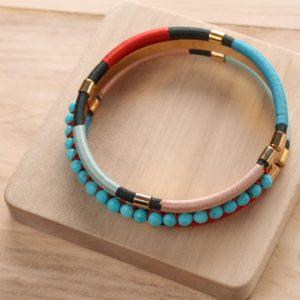 DINKA bracelet 3 rangs