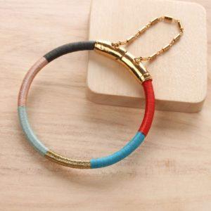 DINKA bracelet 2 rangs