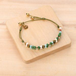 DONNA bracelet perles tissées
