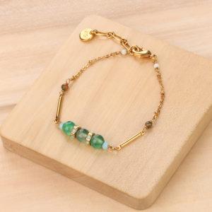 DONNA bracelet 3 perles