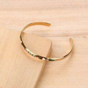 DONNA bracelet jonc 3 strass
