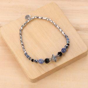 LISA bracelet extensible argent