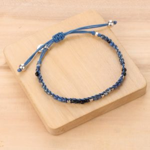 LISA bracelet macramé tissé