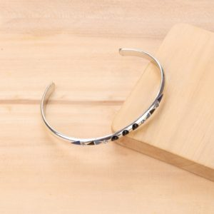 LISA bracelet rigide 3 strass