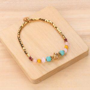 MIA bracelet extensible doré