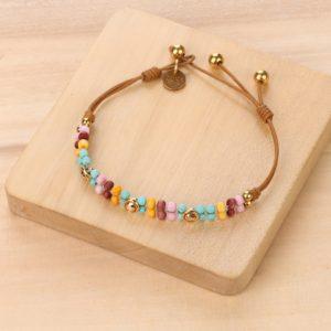 MIA bracelet perles tissées