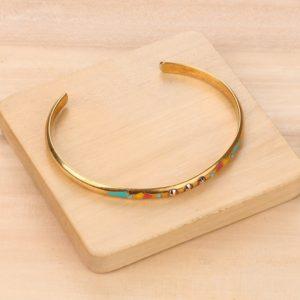 MIA bracelet jonc 3 strass