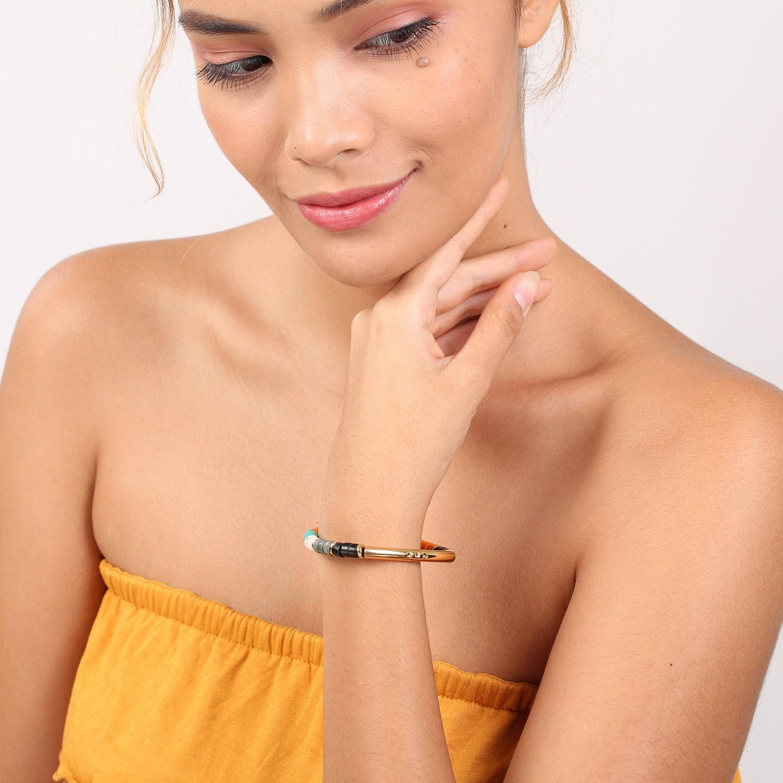 SHARON bracelet extesible tube (orange)