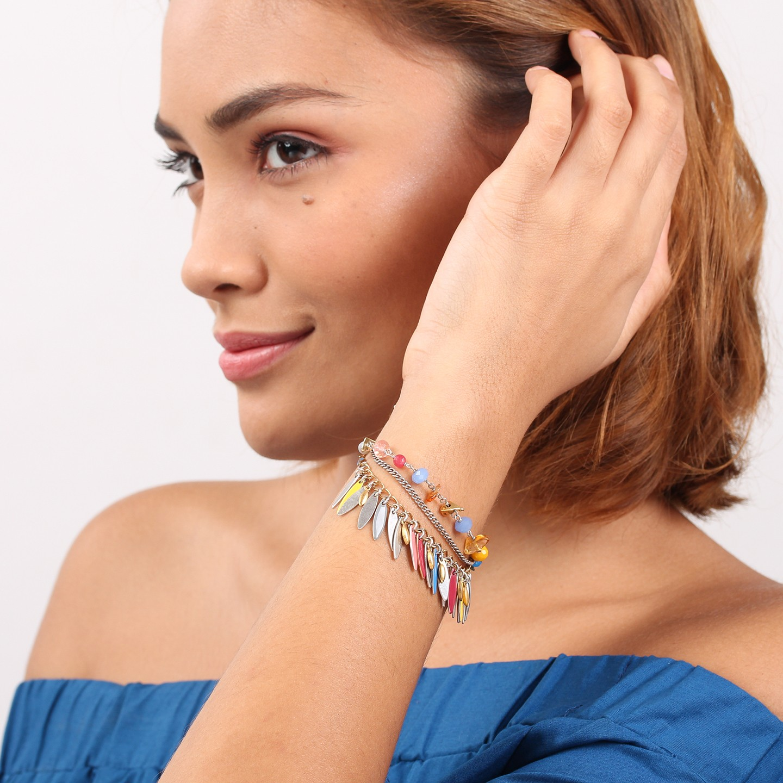 DAPHNE bracelet 3 rangs