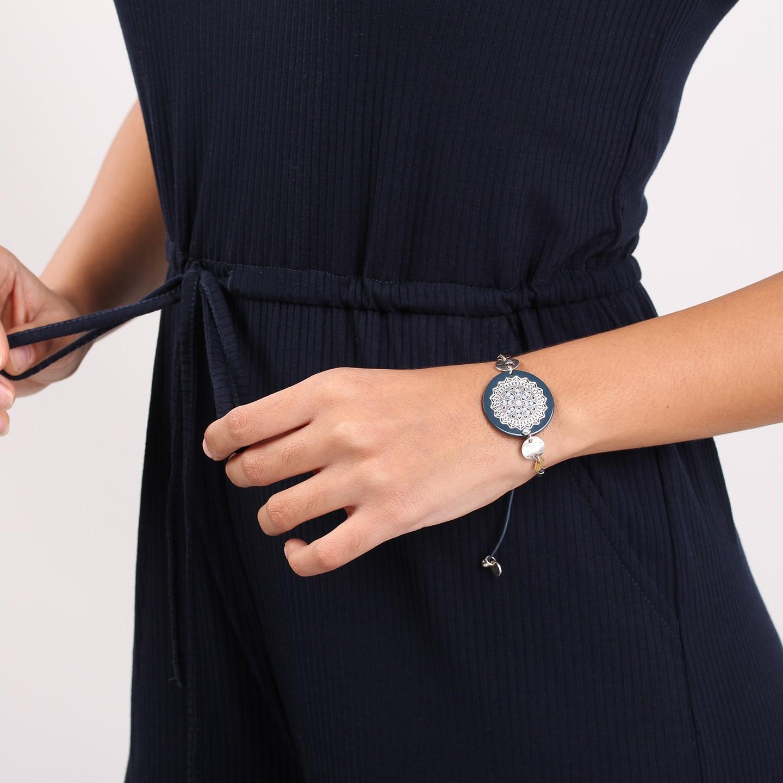 AXELLE bracelet fermoir tube