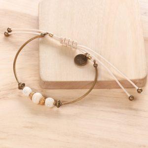 JANE bracelet jonc macramé