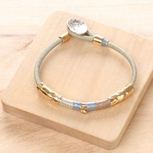 LUCIE bracelet fermoir bouton