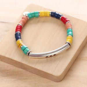 SHARON bracelet extensible tube (rouge)