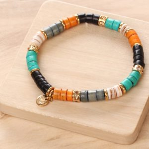 SHARON bracelet extensible (orange)