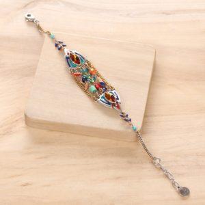 DINA bracelet 5 rangs centrales