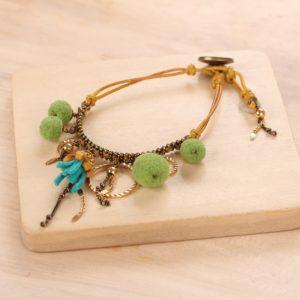 MATHILDA button lock bracelet