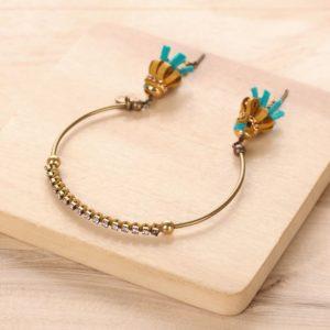 MATHILDA bracelet jonc strass