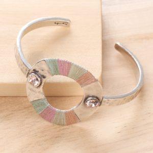 LOLA bracelet rigide 2 strass