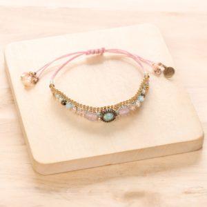 MADELINE bracelet macramé