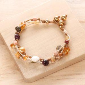 YOUNA bracelet fermoir bouton