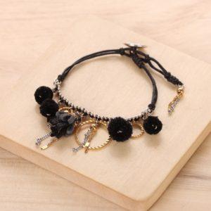 AGNES bracelet multipampilles