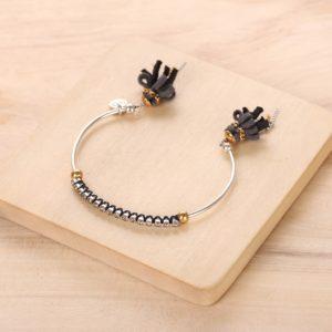 AGNES bracelet jonc strass