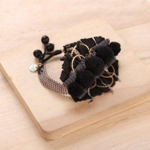 AGNES bracelet tissé ajustable
