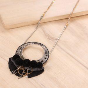AGNES collier pendentif long