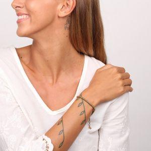 JOYCE bracelet chaîne strassée