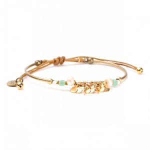 PHOEBE bracelet macramé semi-rigide