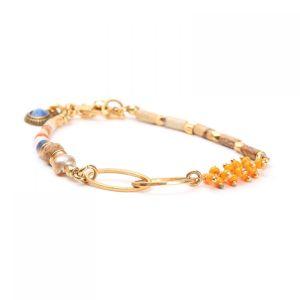 CASSY bracelet fermoir mousqueton