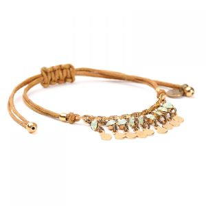 PHOEBE bracelet macramé multipampilles