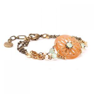 PHOEBE bracelet 3 rangs
