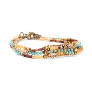 COLETTE bracelet 3 rangs