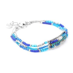 ALEXANE bracelet 3 rangs