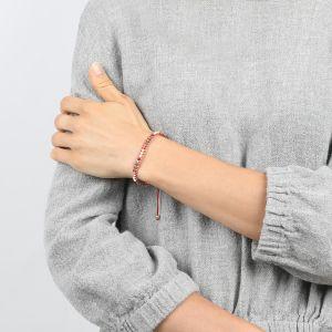 JANNA bracelet macramé perles tissées