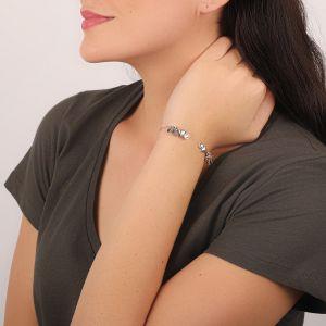 KATY bracelet rigide mini pampilles