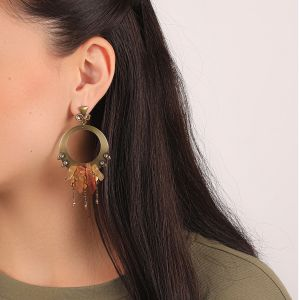 CLARA boucles d'oreilles gitanes grand format
