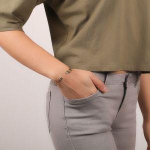 CLARA bracelet rigide mini pampilles