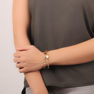 AMANDINE bracelet 2 tours
