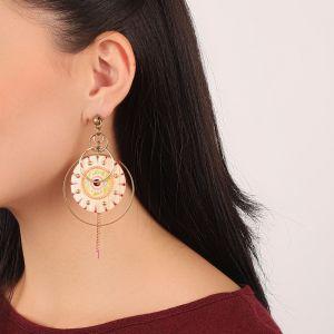 KORALIE boucles d'oreilles multi anneaux