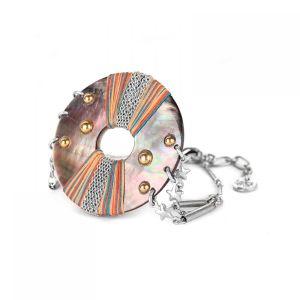 DANNIE bracelet Nacre grand modèle