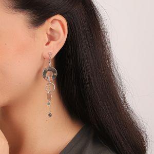 DANNIE boucles d'oreilles anneaux & pampilles
