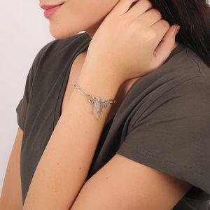 KATY bracelet chaine & cristal