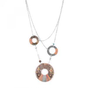 DANNIE collier 3 anneaux